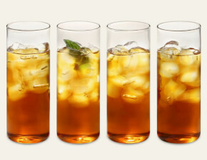 iced tea glasses