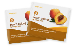 peach oolong teabags