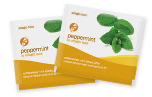 peppermint teabags